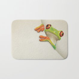 Little Red Eyed Tree Frog Bath Mat