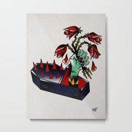 Abracadaver Metal Print