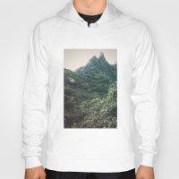 hawaii Hoodies featuring Hawaii Mountain by Kurt Rahn