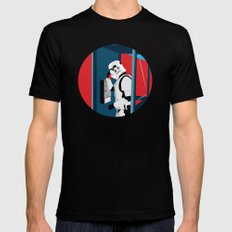 Stormtrooper Phone Home Mens Fitted Tee Black 2X-LARGE