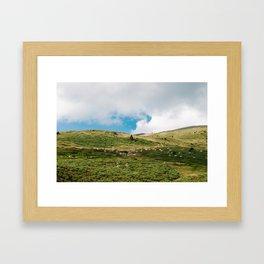 Le Troupeau des Chevaux/The Herd of Horses Framed Art Print