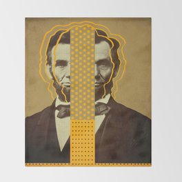 AbracadAbraham - Lincoln Throw Blanket