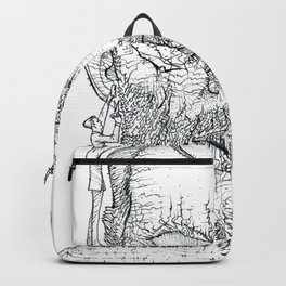 BARBERS FOR THE GIANT Backpack