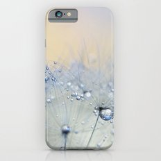ice blue dandelion iPhone 6s Slim Case