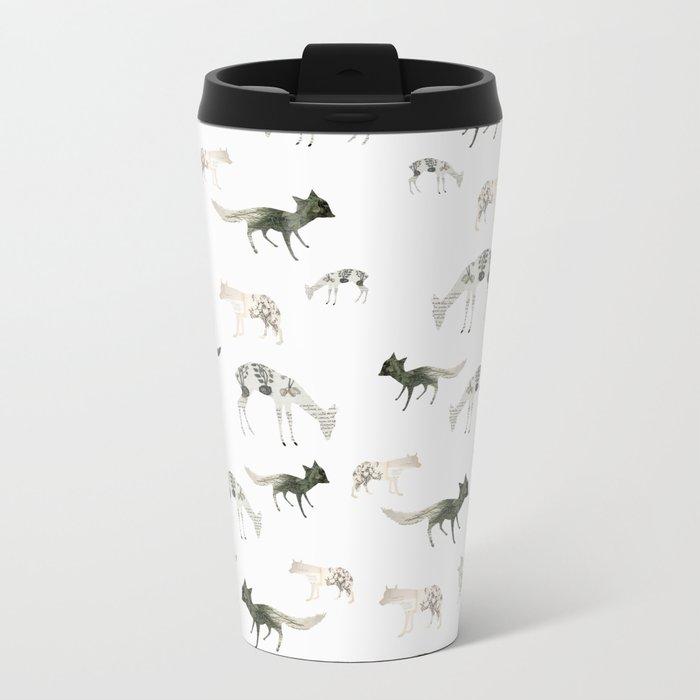Paper Animals Metal Travel Mug