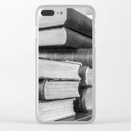 Books Clear iPhone Case