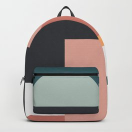 Abstract Geometric 07 Backpack