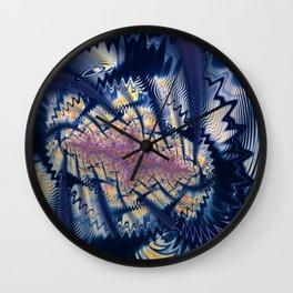 Tornado Touchdown Wall Clock