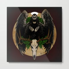 The Spirit of Creepmas Metal Print