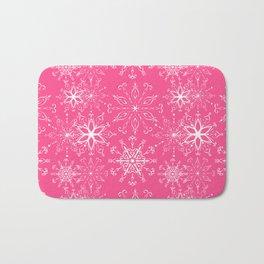 Dainties Bold Pink Bath Mat