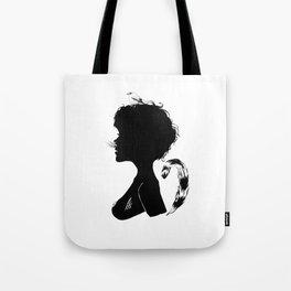 Birdie Silhouette Tote Bag