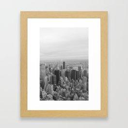 Empire State, New York Framed Art Print