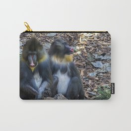 Monkeys - Mandrill Carry-All Pouch