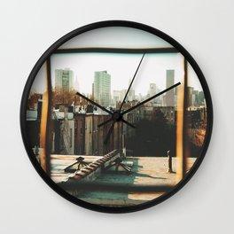 Sun It Rises Wall Clock