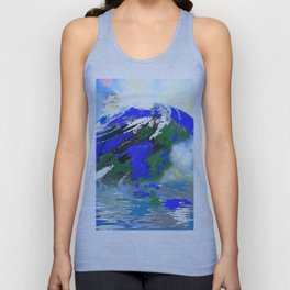 EARTH AND SEA Unisex Tank Top