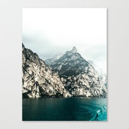 Lake Garda. Canvas Print
