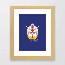 Gundam Material Framed Art Print