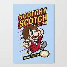 Super Scotchy Bros. Canvas Print