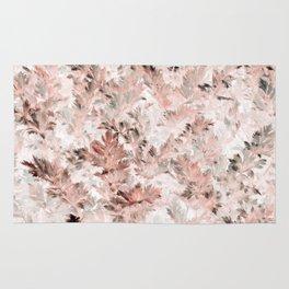 Blush Pink Parsley Foliage Rug