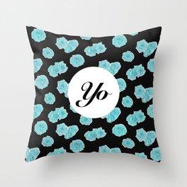 Yo  Throw Pillow
