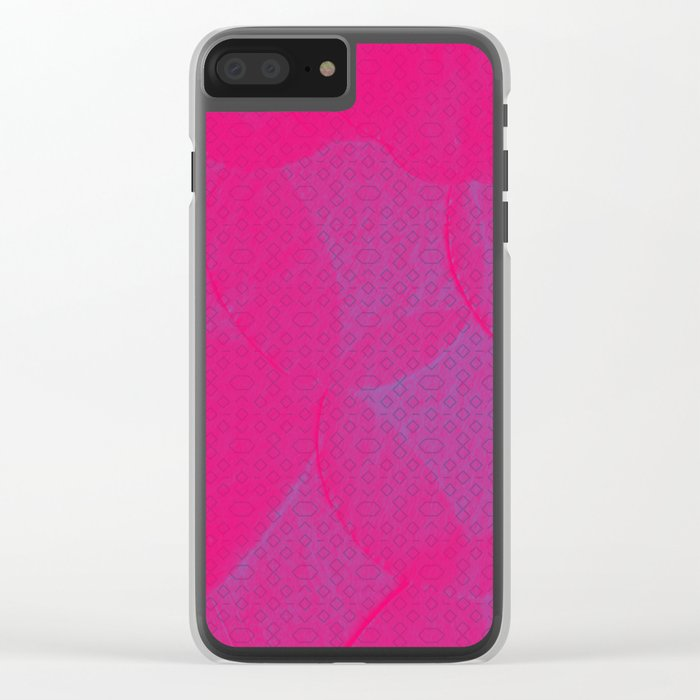 Paper Dreams Clear iPhone Case