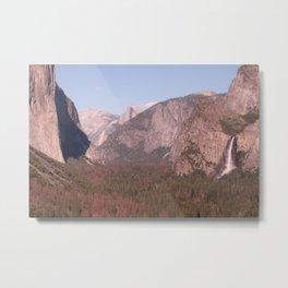 Yosemite Valley Tunnel View Metal Print
