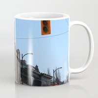 stanley kubrick Mugs featuring Stanley by RMK Photography