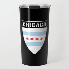 Chicago Shield Travel Mug