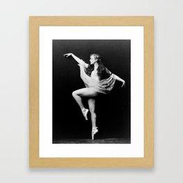 Zeigfeld Follies Girl Framed Art Print
