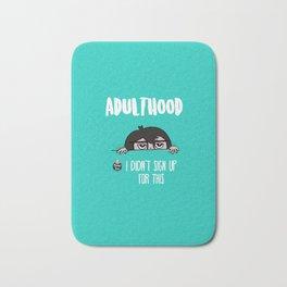 Adulthood Bath Mat