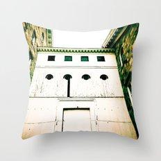 Cornered  Throw Pillow