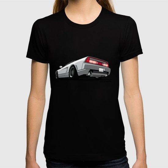 White Honda Acura NSX T-shirt By Monkeycrisisonmars