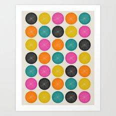 Circles 3 Art Print