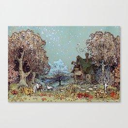 The Gardens of Astronomer Canvas Print