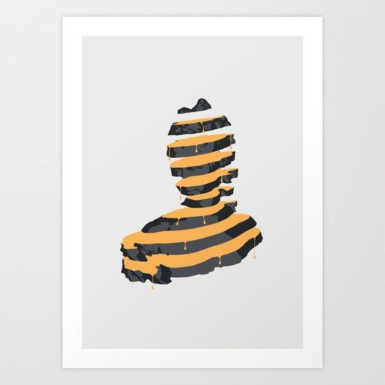 Baronesse Slices Art Print