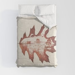 Autumn morning Comforters