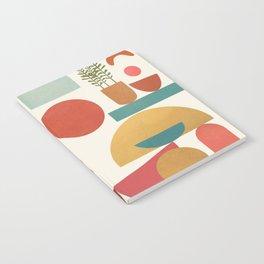 Modern Abstract Art 77 Notebook
