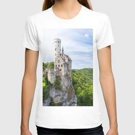 Lichtenstein castle T-shirt