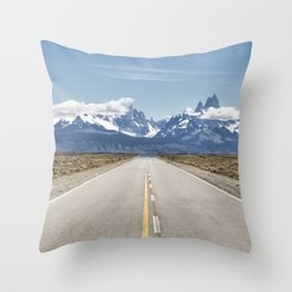 El Chaltén - Patagonia Argentina Throw Pillow