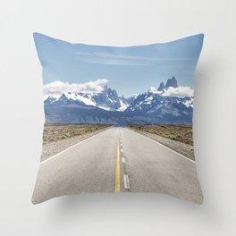 El Chaltén - Patagonia Argentina Throw Pillow