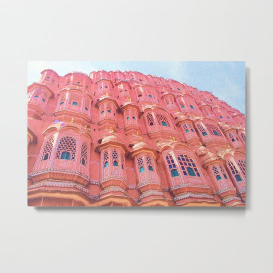 Pink Dream of JAIPUR Metal Print
