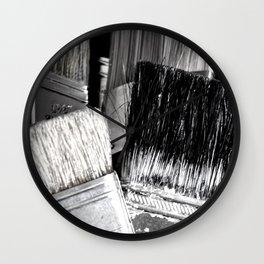 brushes Wall Clock