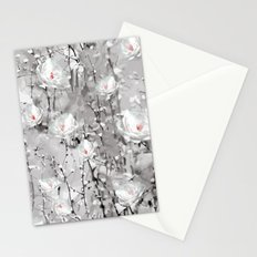 White Flowers - for iphone Stationery Cards