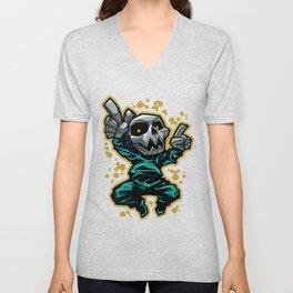 Skull Dancer Unisex V-Neck