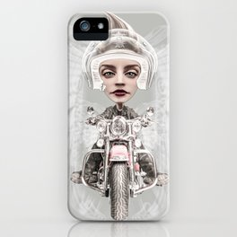 BORN TO BE WILD (2) iPhone Case