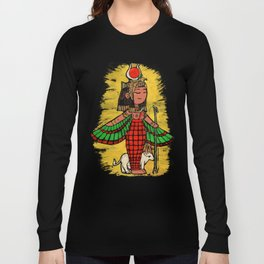 Goddess Hathor Long Sleeve T-shirt