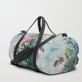 The Last Flowers Duffle Bag