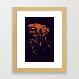 mako shark Framed Art Print