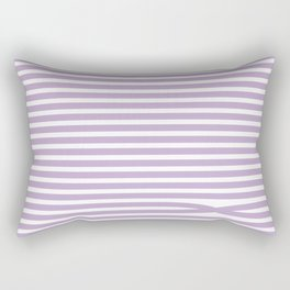 Stripes - Baby Lilac Rectangular Pillow
