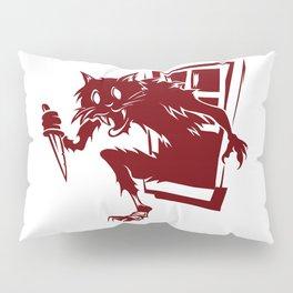 Home Invasion Cat Pillow Sham